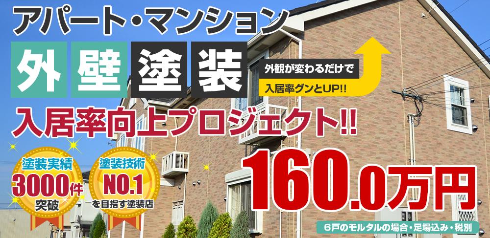 高級シリコン+付帯部シリコン塗装 1600000万円