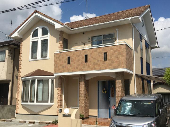 岡山市南区 O様邸 外壁塗装工事  シリコン塗料