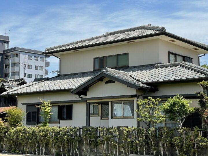 岡山市中区 A様邸 外壁塗装工事  シリコン塗料