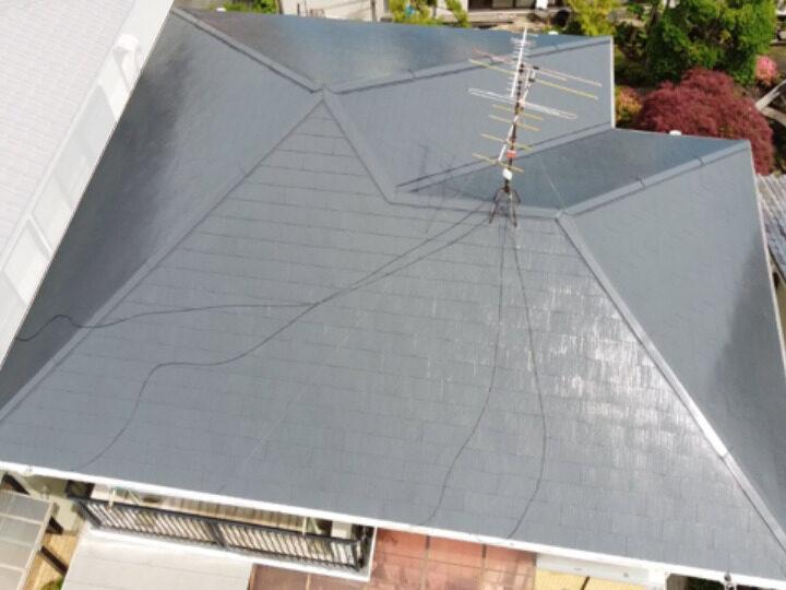 岡山市中区 K様邸 屋根塗装工事