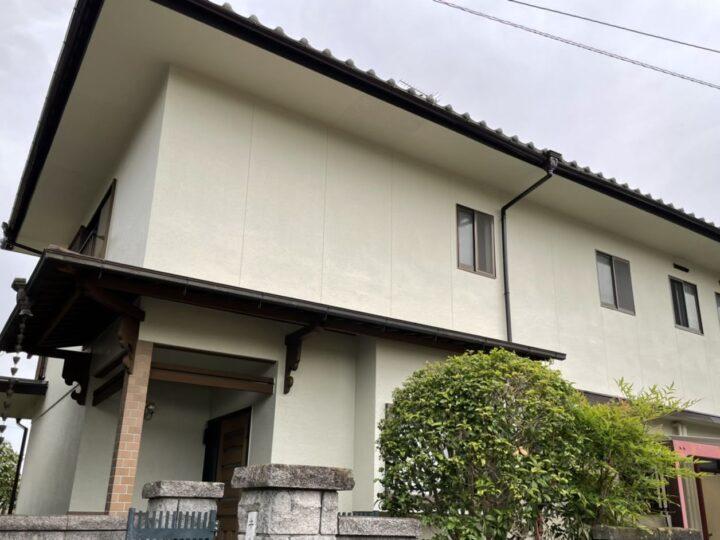 瀬戸内市 ◆様邸 外壁塗装工事  シリコン塗料