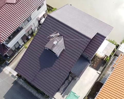 岡山市中区 S様邸 屋根塗装工事
