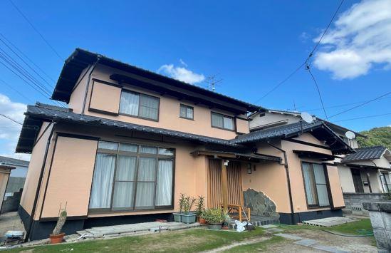 岡山市東区 S様邸 外壁塗装工事